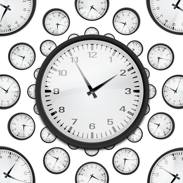 Meranie času II – príklady